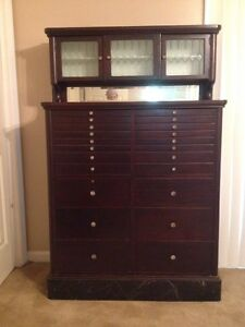 Antique Dental Cabinet   eBay