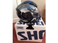 Shoei NXR motorbike helmet