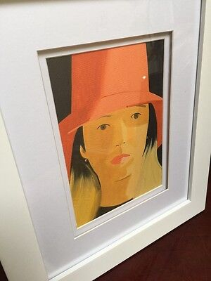 "Alex Katz Art ""Red Hat"" (Elise 2013) lithograph (b. 1927) Framed"