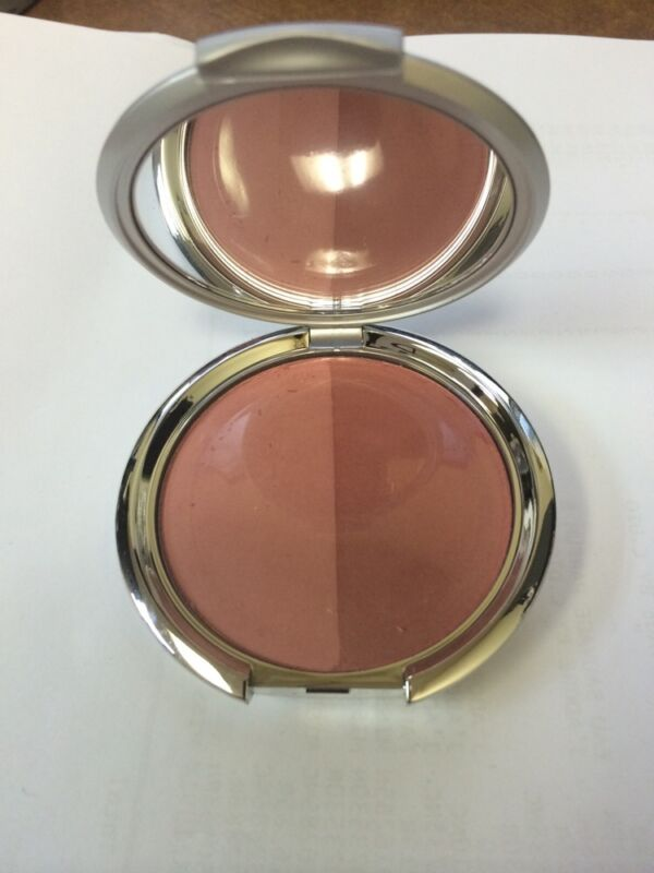 "Kirkland By BORGHESE Tawny Peach BLUSH DUO POWDER"" SHEER SATIN""(884918)"