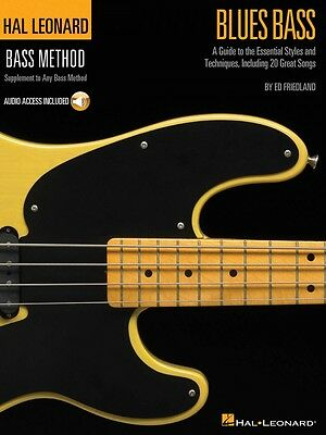 Blues Bass A Guide to the Essential Styles and Techniques Hal Leonard 000695870