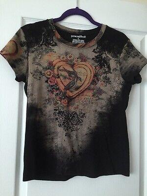 Women's Western Look Shirt Size L