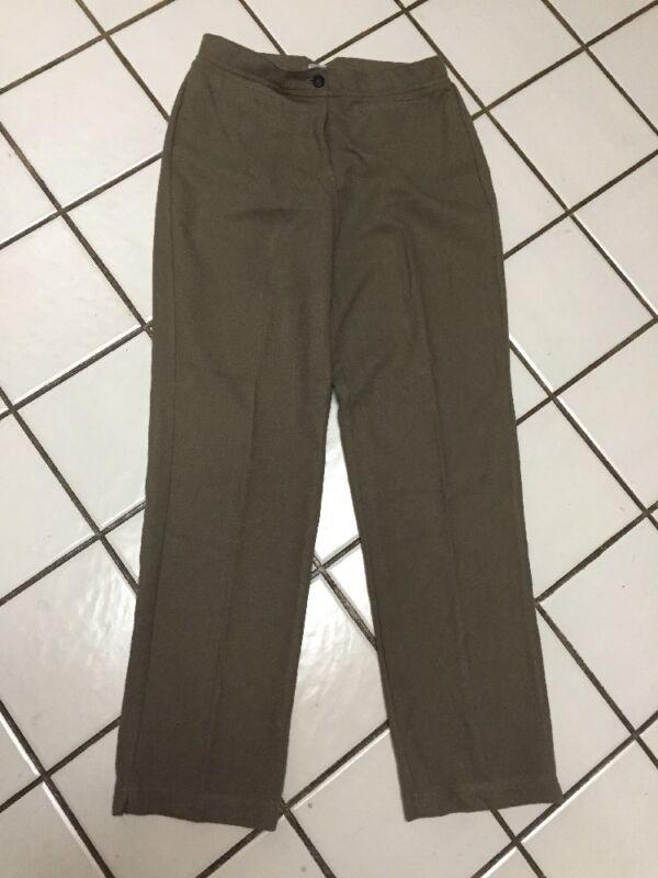 WOOLRICH Hazelnut Heather Retro Inspired Casual Pants_ Sz 8_Rayon Poly Blend