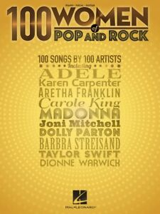 100 Women of Pop and Rock Sheet Music Piano Vocal Guitar SongBook NEW 000284391