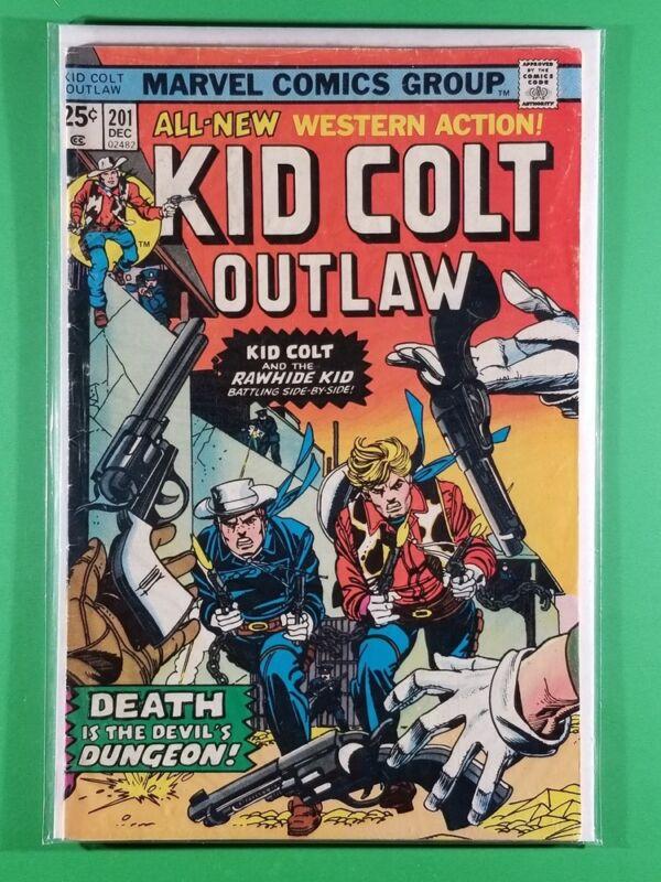 Kid Colt Outlaw #201 (Marvel, December 1975)