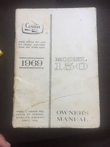 Cessna Owner's Manual Model 150 1969