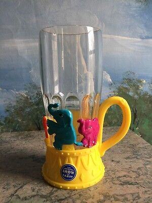 Ringling Bros Barnum&Bailey Greatest Show on Earth Circus Light Up Cup ELEPHANTS