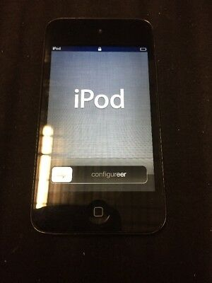 Used Apple 8G iPod Touch Black 8g Ipod
