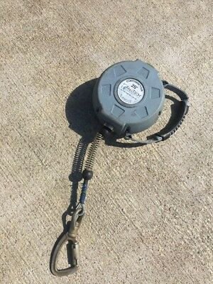 Falltech Contractor 727620 20ft Galvanized Cable Self Retracting Lifeline