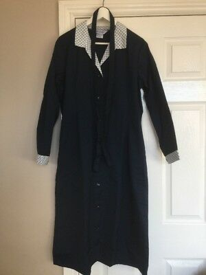 Alexandra HA186 Navy Workwear Dress Coverall Dinner Lady Cleaning Nurse Size 18