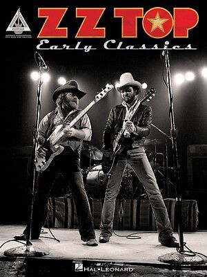 ZZ Top Early Classics Sheet Music Guitar Tablature Book NEW 000121684