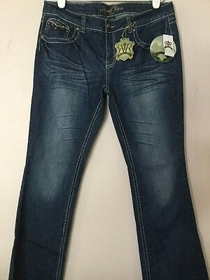 Athletic Leather Jeans (NWT WOMEN REQUEST JEANS LIVERPOOL ATHLETIC FIT BOOT CUT SZ 17/36 LEATHER TRIM)
