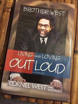 Brother West Living and Loving Out Loud Memoir Cornel West HC
