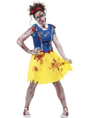 Zombie Miss Schneewittchen Kostüm, Teenager XS, Halloween Kostüm, - Zombie Kostüm Teenager Mädchen