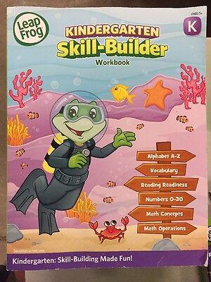 Leap Frog Kindergarten Skill Builder Workbook   Brand New