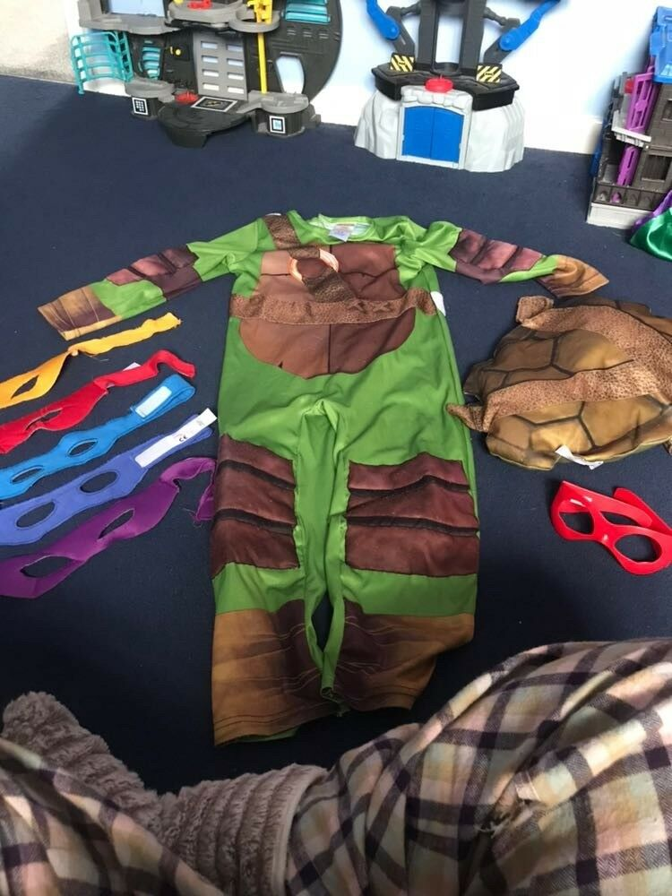 turtle power dress up age 5_6