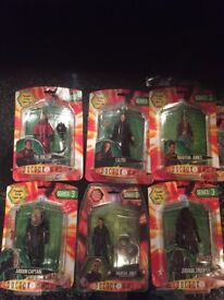 Dr Doctor Who Series 3 The Doctor, Lilith ,Martha Jones X2 Judoon X2