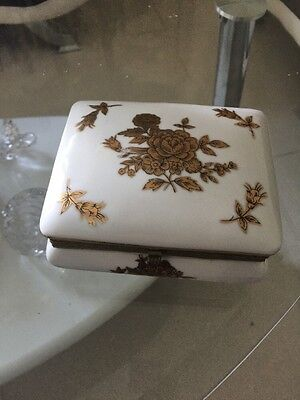Antique French Jewelry Box