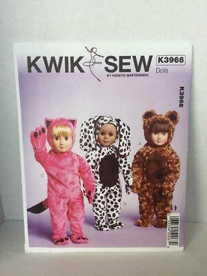 Kwik Sew K3966 Pattern for 18