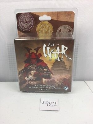 Age of War Dice Game - BRAND NEW A Game Of Conquest In Feudal Japan