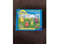 TELETUBBIES GIANT FLOOR JIGSAW PUZZLE - 25 PIECES - 2 YEARS +