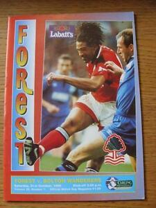 21-10-1995-Nottingham-Forest-v-Bolton-Wanderers-No-Apparent-Faults