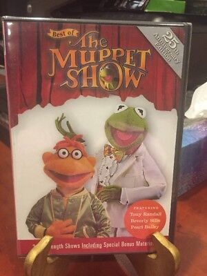 Best of The Muppet Show(DVD,2001)Tony Randall,Beverly Sills,Pearl Bailey/MfgSeal (Muppet Show Beste)