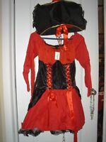 Brand New Ladies size Xl Pirate Costume