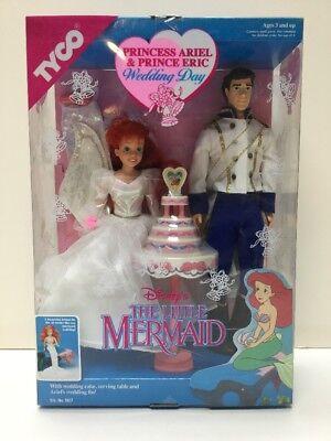 TYCO Disney Princess Ariel & Prince Eric Wedding Day w/ Wedding Accessories](Princess Ariel Accessories)
