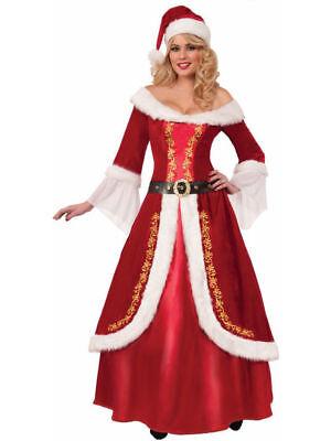 Premium Mrs. Claus - Christmas Female Santa Costume](Female Santa)