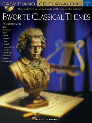 Classical Themes Easy Piano - Favorite Classical Themes Sheet Music Easy Piano Play-Along Book 000310921