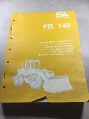 Fiat Allis Fr140 Wheel Loader Parts Catalog