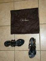 COLE HAAN NIKE AIR WHITNEY GLADIATOR COMFORT SANDALS SZ 8
