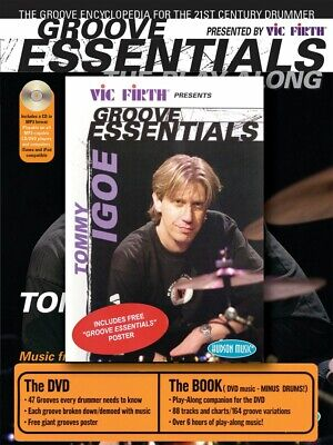 Tommy Igoe Groove Essentials DVD CD and Book and DVD NEW 000320541