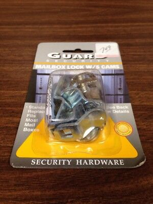 Guard Security Mailbox Lock W 5 Cams-package Doesnt Say Keyed Alike N6