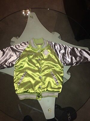 Toddler Girls 4 Tinker Bell Disney Store Baseball Jacket](Toddler Girl Clothing Stores)