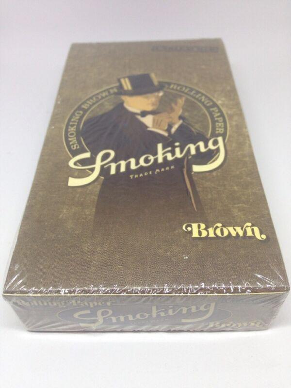 Smoking brown paper 11/4 24pc in box