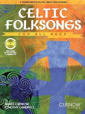 Instruments Curnow Play Along Book - Celtic Folksongs for All Ages C Instruments Curnow Play-Along Book 044005581