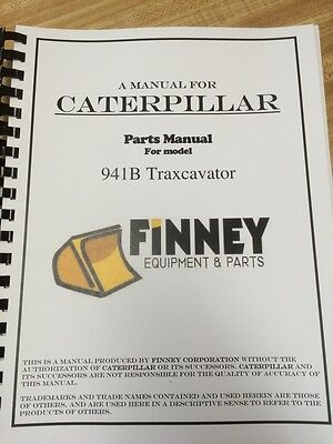 Cat Caterpillar 941 941b Parts Manual Book Crawler Loader 80h3040 3883 Ueg0596s