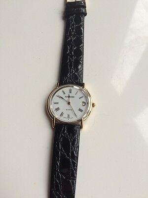 Jean Pierre Of Switzerland Quartz Dress Watch (Boxed)