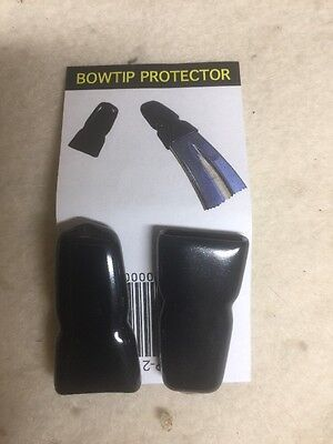 Rubber Bow Tip Protector,  Recurve Kwikee Kwiver 2 Per Pack Free Shipping