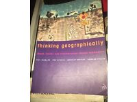Thinking Geographically Space, Theory And Contemporary Human Geography
