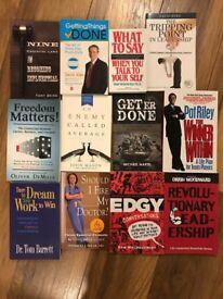 Books - leadership/personal development