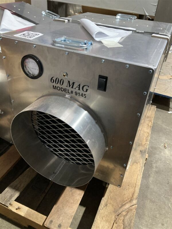New AeroSpace America AeroClean 600 MAG 2-speed Air Cleaner / Scrubber 9145