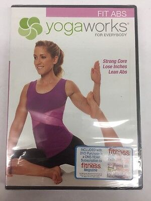 Yogaworks For Everybody  Fit Abs  New Dvd
