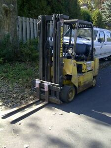 HYSTER Forklift Chariot Elevateur 5000lbs S50XL