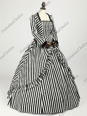 Victorian Scarlett OHara Gown Steampunk Witch Vampire Halloween Costume N 321 L