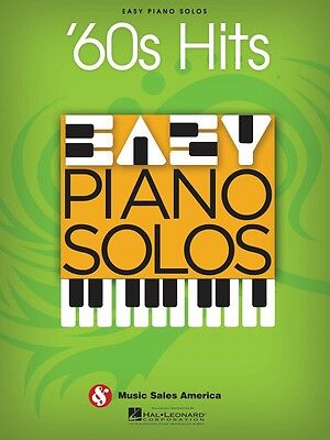 60s Hits Easy Piano Solos Sheet Music Easy Piano Solo Book NEW 014041282