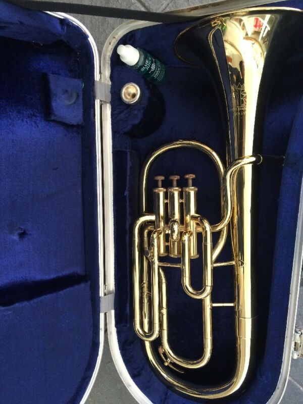 Amati Kraslice AAH211 Tenor Horn In Hard Case