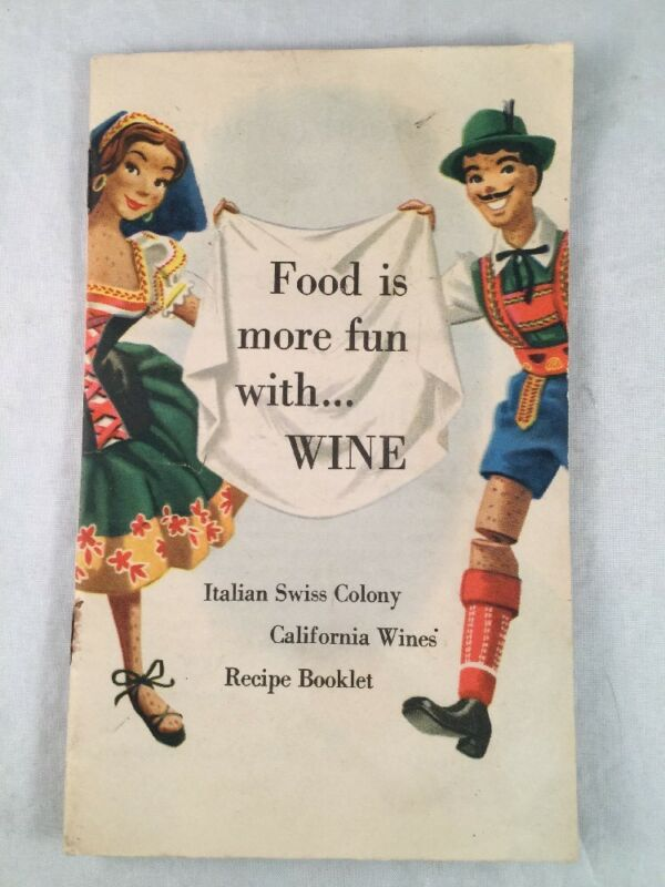 Vintage Italian Swiss Colony California Wines